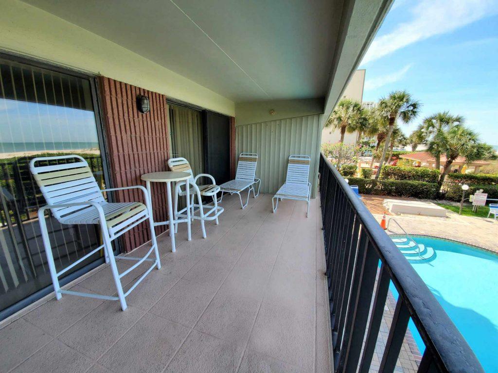 Room 202 balcony