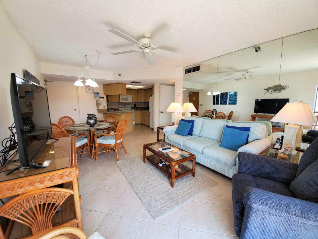 Room 603 living room